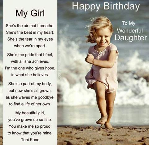 Birthday Wishes Daughter