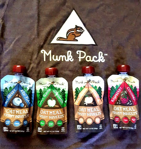 Munk Pack oatmeal fruit squeezes {Review & Discount Code}