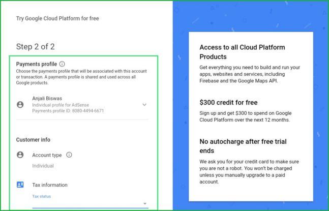 Google-cloud-form