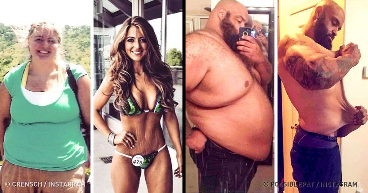 21 Before And After Photos Of People Who Managed To Lose Weight and Begin A Brand New Life