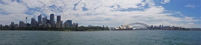 vista panoramica sul centro di Sydney
