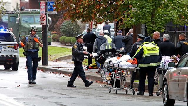 Penembak di Pittsburgh Sempat Teriak 'Seluruh Yahudi Harus Mati'