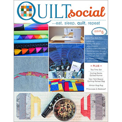 quilt social ezine 6 cover photo