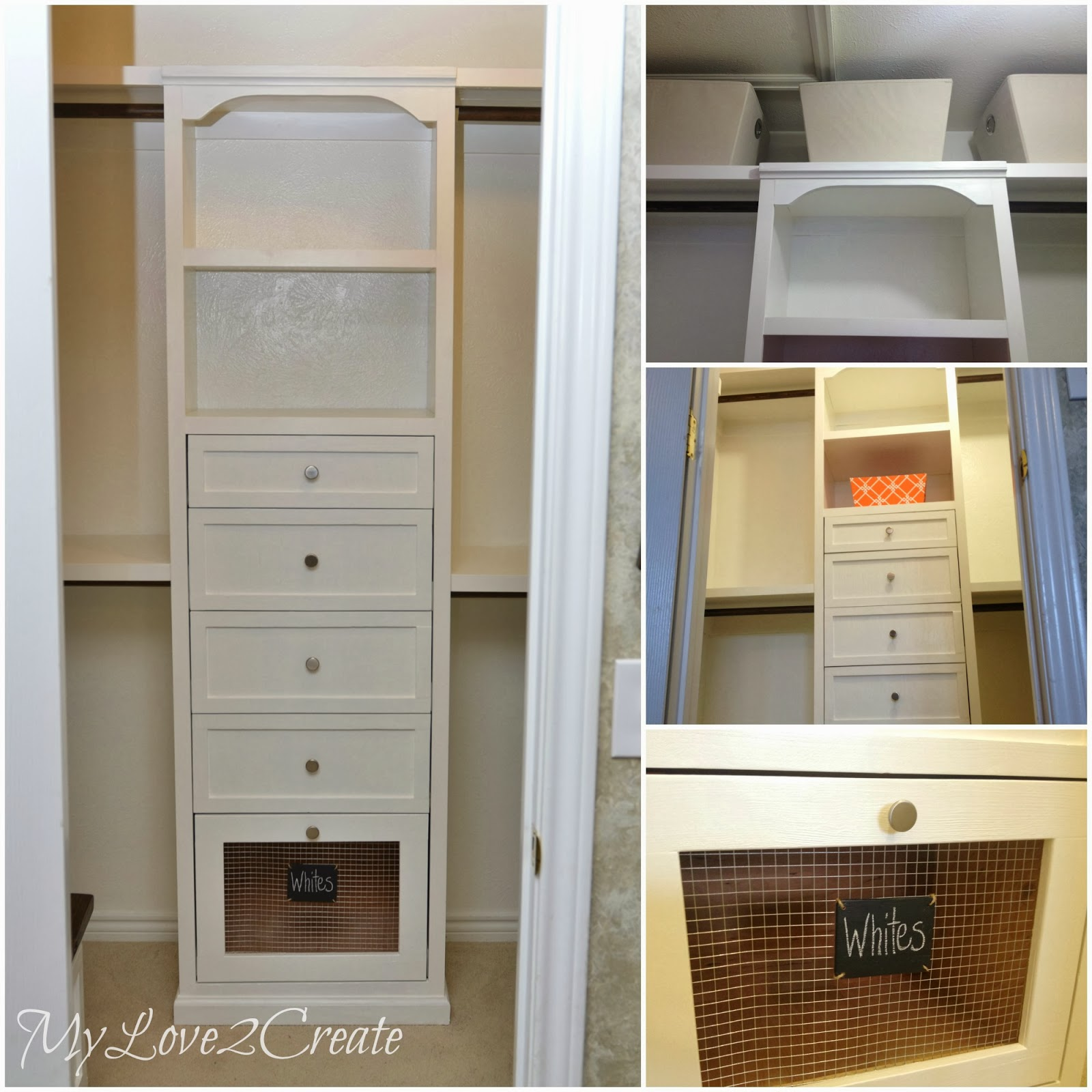 Master closet makeover reveal my love 2 create for Diy master closet ideas