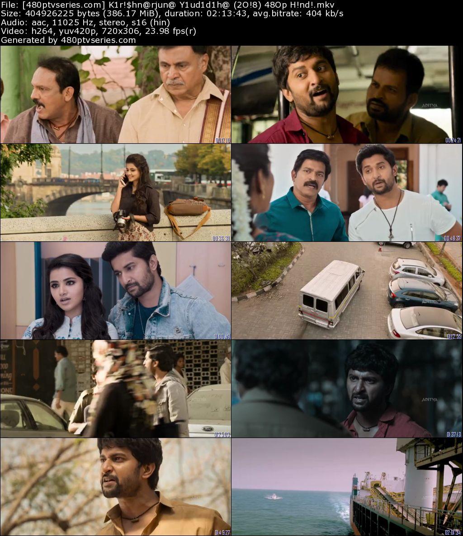Krishnarjuna Yuddham (2018) 350Mb Full Hindi Dubbed Movie Download 480p HDRip Free Watch Online Full Movie Download Worldfree4u 9xmovies