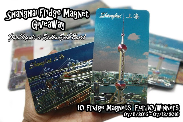 Shanghai Fridge Magnet Giveaway by Jari Manis & Scdha Sein Travel