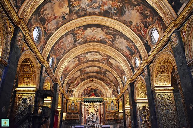 St John's Cocathedral de La Valleta en Malta