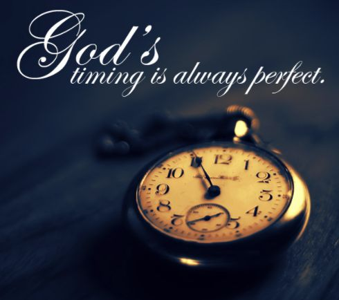How You Can Succeed With God's Perfect Timing
