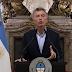 """Mauricio Macri: """"Decidí iniciar conversaciones con el FMI para una línea de apoyo financiero"""""""
