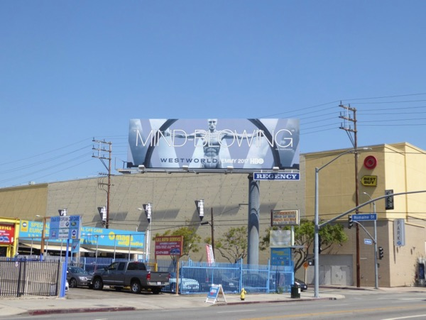 Westworld season 1 Mind-blowing Emmy billboard