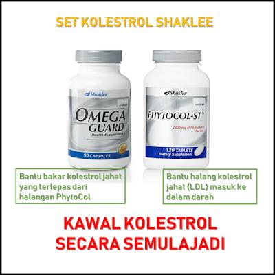vitamin semulajadi untuk kolestrol