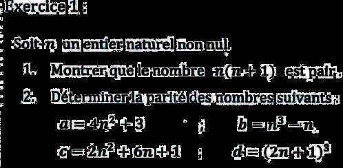 arithmétique dans z cours pdf