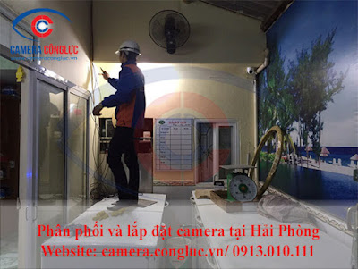 Bảo trì camera quan sát tại nhà cho khách hàng.