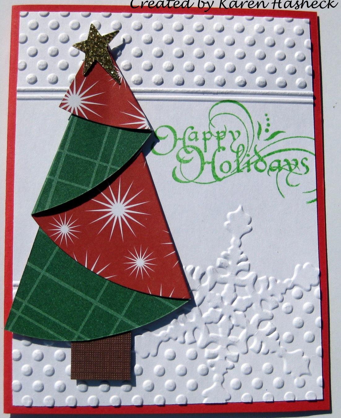 Оригами открытки к новому году