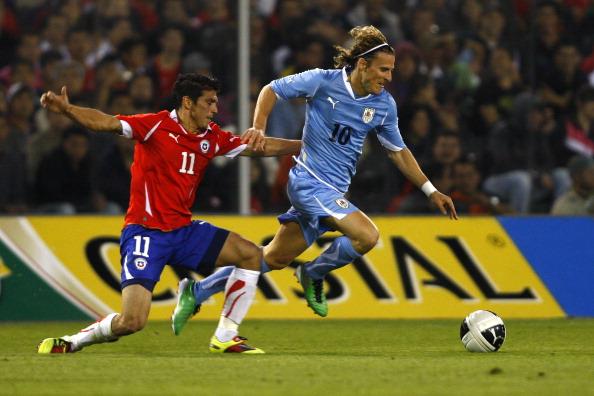 Chile y Uruguay en partido amistoso, 17 de noviembre de 2010