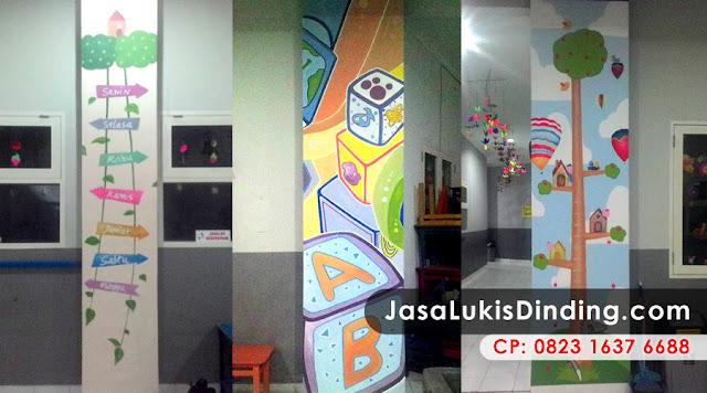 Ongkos Lukis Dinding Mural Profesional