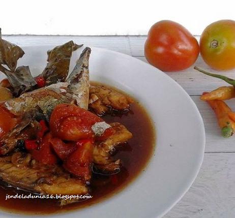 Wisata Kuliner Nusantara Ikan Asin Pedas Masak Kecap