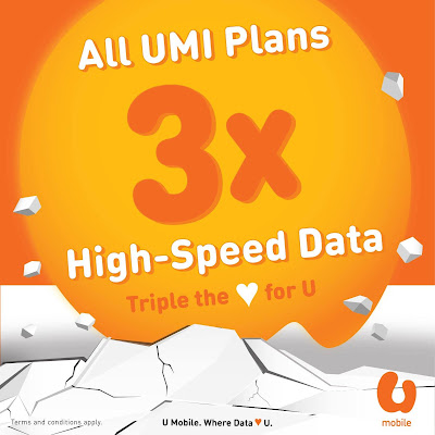 U Mobile Prepaid UMI Plans High Speed Data