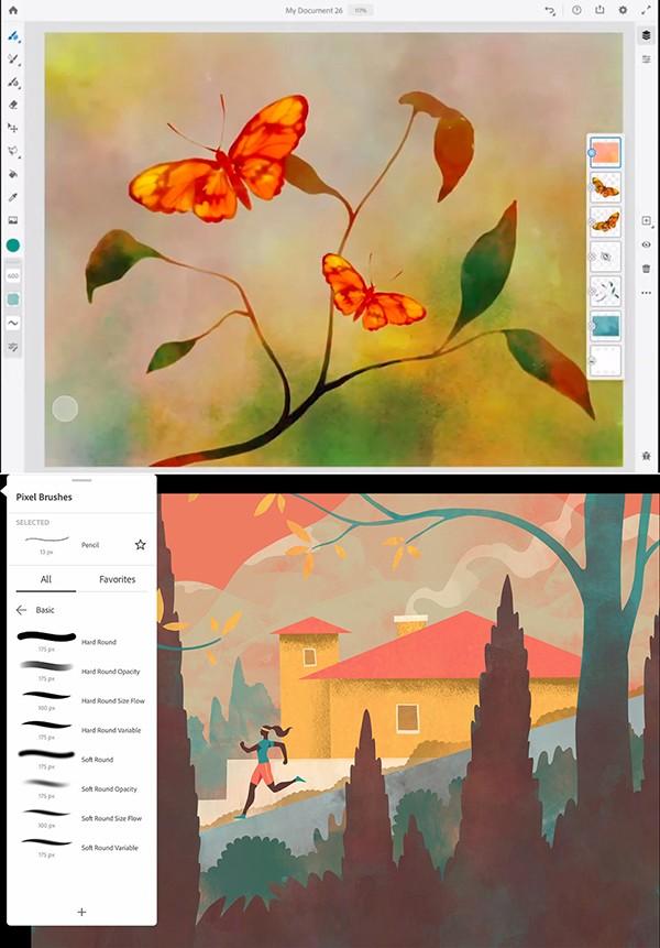 Adobe Fresco Versión 1.5.0.67 Full Español
