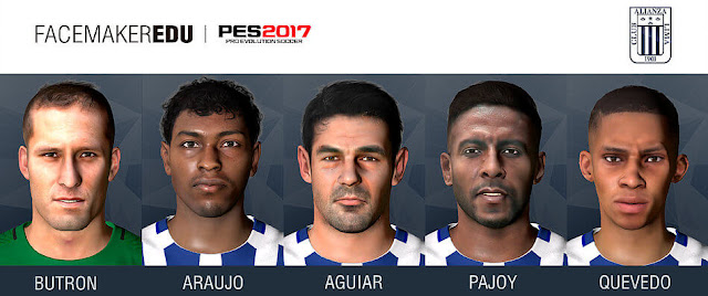 Alianza Lima Facepack PES 2017
