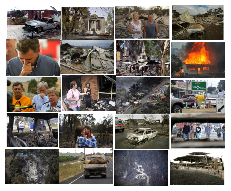 Natural Disasters Collage