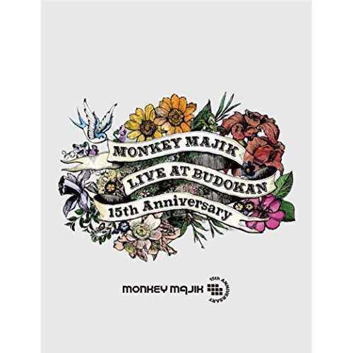 [Album] MONKEY MAJIK – LIVE at BUDOKAN -15th Anniversary- (2015.05.13/MP3/RAR)