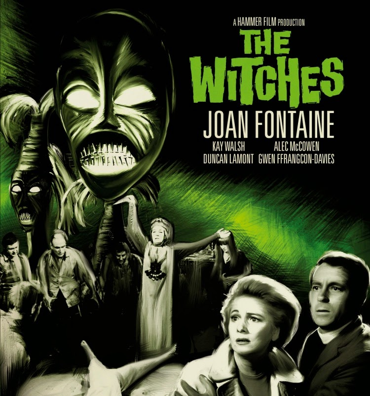 A Vintage Nerd, Vintage Halloween, Vintage Blog, Halloweens of the Past, Halloween Inspiration, Joan Fontaine, The Witches