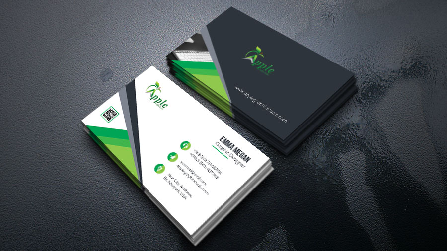 Modern business card design tutorial in photoshop cc apple graphic hello designers in this post we will discus about design a modern business card before design visiting cards we have to get ideas about its size colourmoves