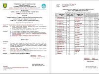 Contoh SK Pembagian Tugas Mengajar Guru Tahun Ajar 2016/2017 Semester Genap