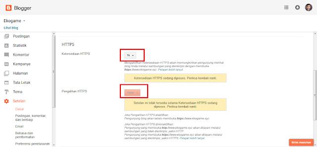 Telah Hadir Fitur SSL Blogger Custom Domain HTTPS