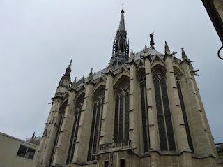 París, Iglesia Sainte Chapelle.