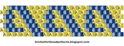 Printable Pony Bead Kandi Cuff Word Chart Pattern 6