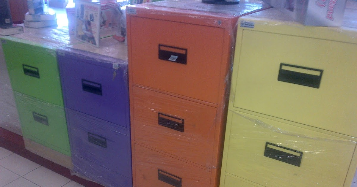 people vs xyz: colored filing cabinets