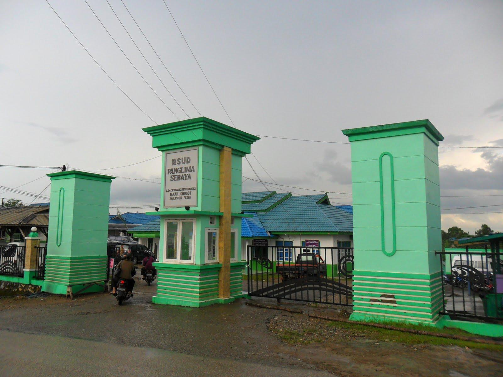 Rsud Panglima Sebaya Tanah Grogot  Ezagren Sekilas Kabupaten Paser
