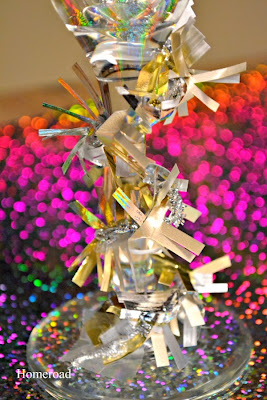 New Year's Eve Party Sparkle Ribbon www.homeroad.net