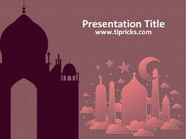 tipricks: islamic ppt templates, Powerpoint templates