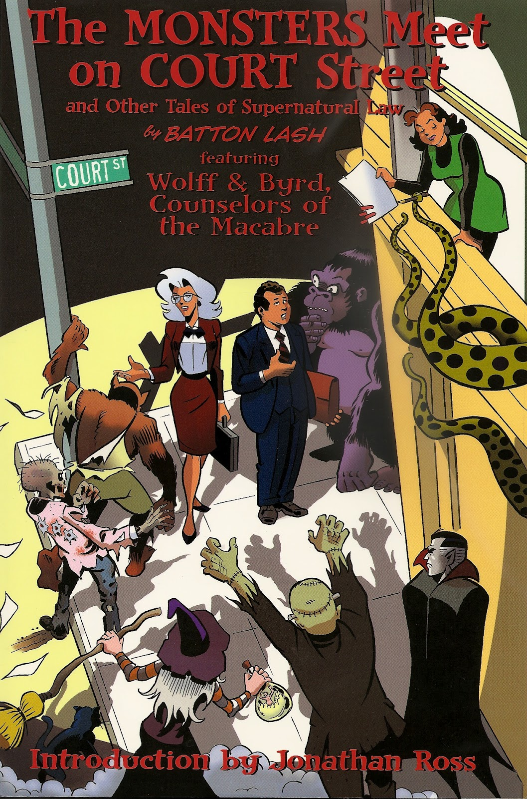 Iurisdictio Lex Malacitana Supernatural Law Comic Book Series Batton Lash