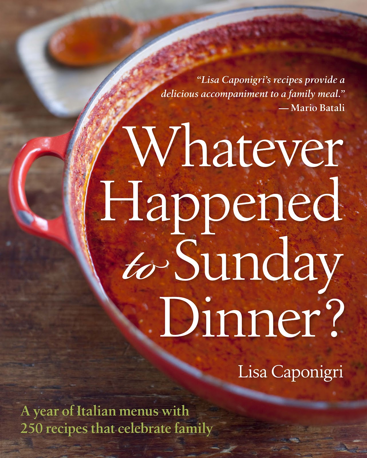 What Ever Happened To Sunday Dinner? {Fabulous Italian