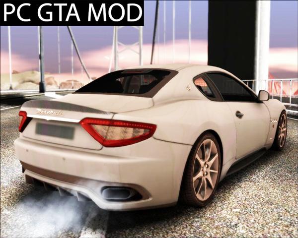 Free Download Maserati GranTurismo Sport Mod for GTA San Andreas