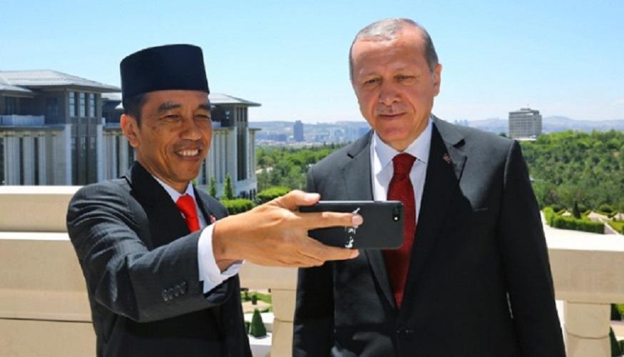 Jokowi dan Erdogan