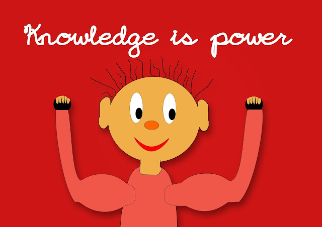 knowledge is power cartoon
