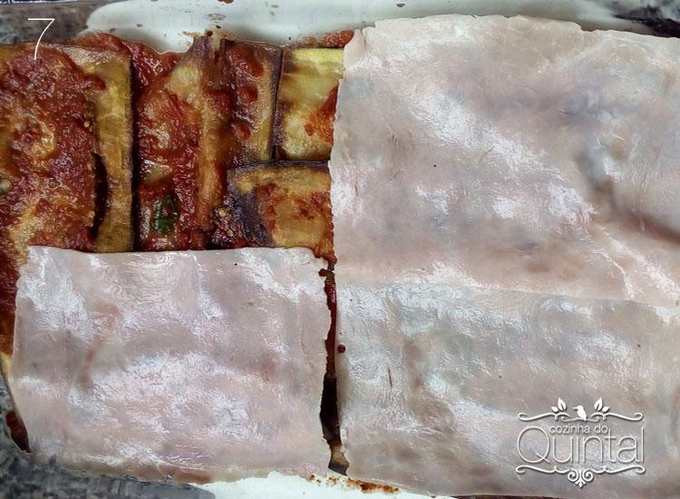 Lasanha de Beringela é um prato delicioso, para qualquer ocasião!