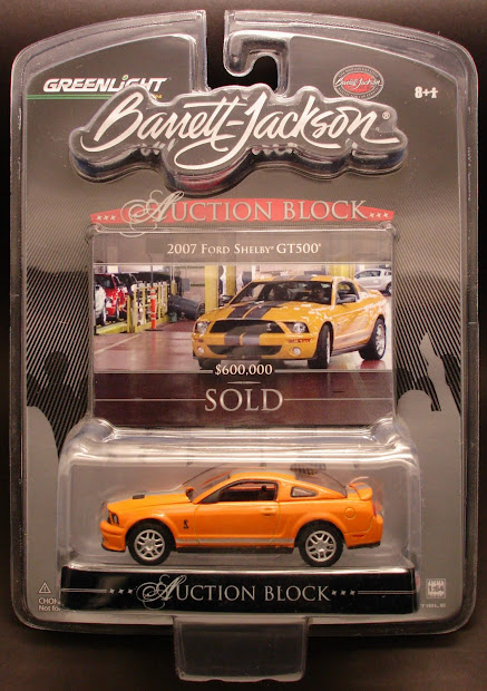 Diecast Hobbist Greenlight Auction Block Series 1