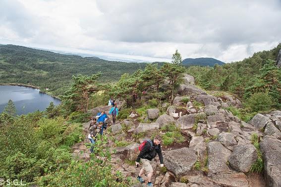 Subida al Pulpito en Noruega