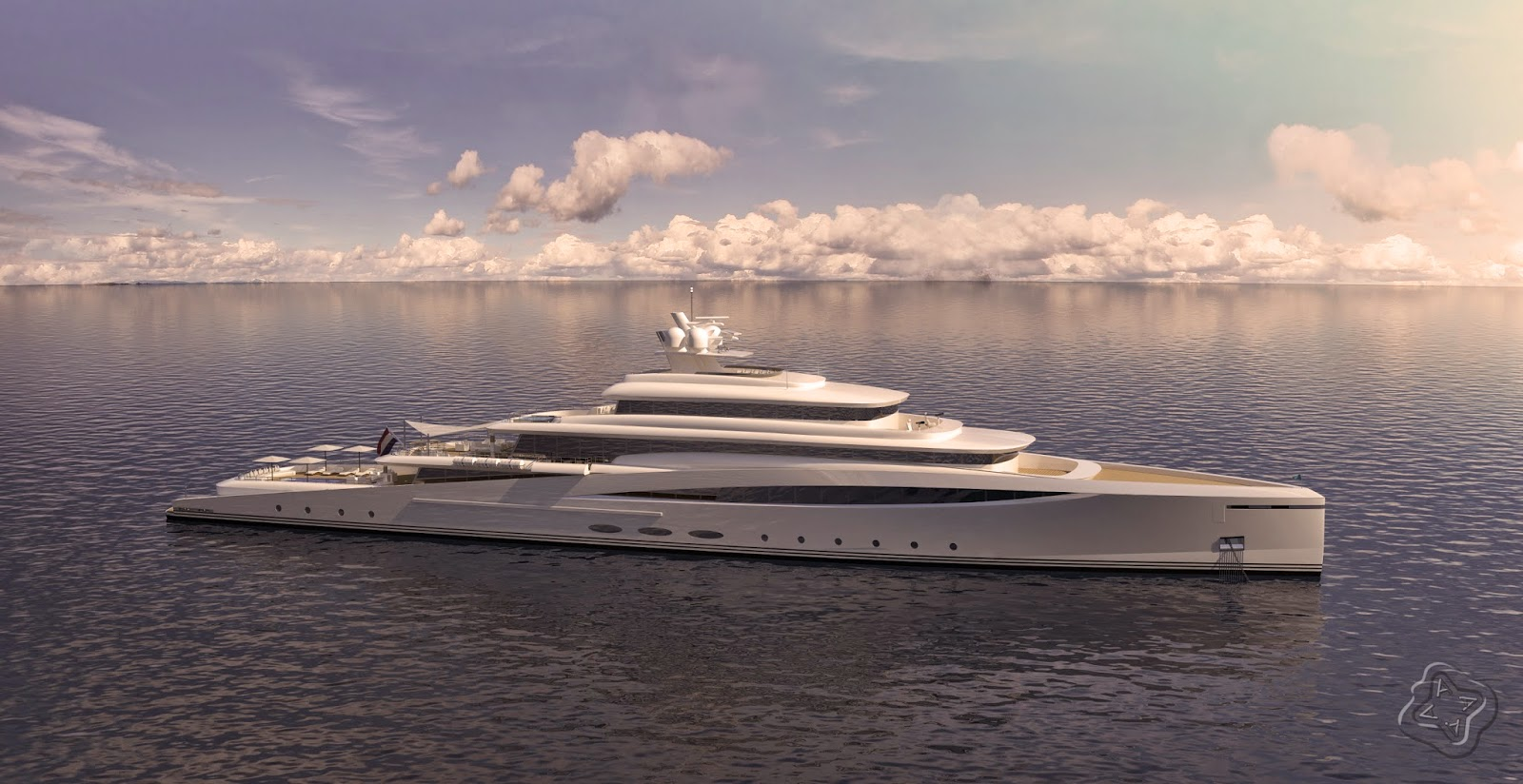 94 Meter Motor Yacht 'Purity' | NBJA English
