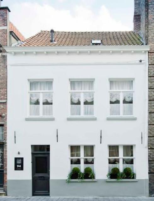 White Rooms apartment rental in Bruges Belgium by Natalie Haegeman