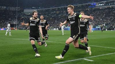 Juventus x Ajax (Foto: Reuters)
