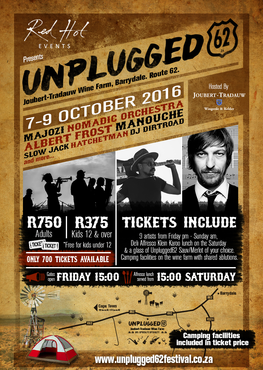The Beat: Unplugged62 Music Festival in the Klein Karoo