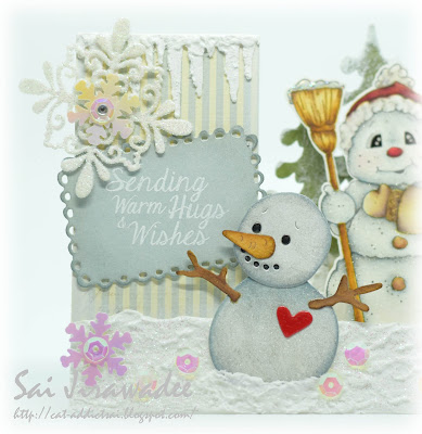 Doohickey Box 12 Snowman