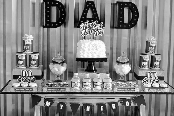 Dicas-de-decoracao-para-festa-do-dia-dos-pais-sobrio-preto-e-branco